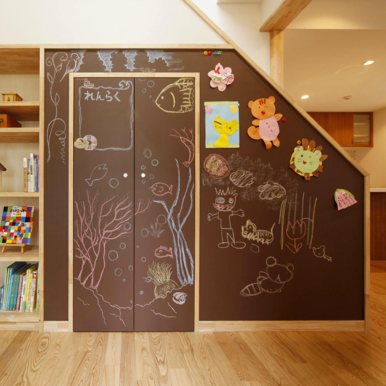 黒板塗料チョコレートブラウン