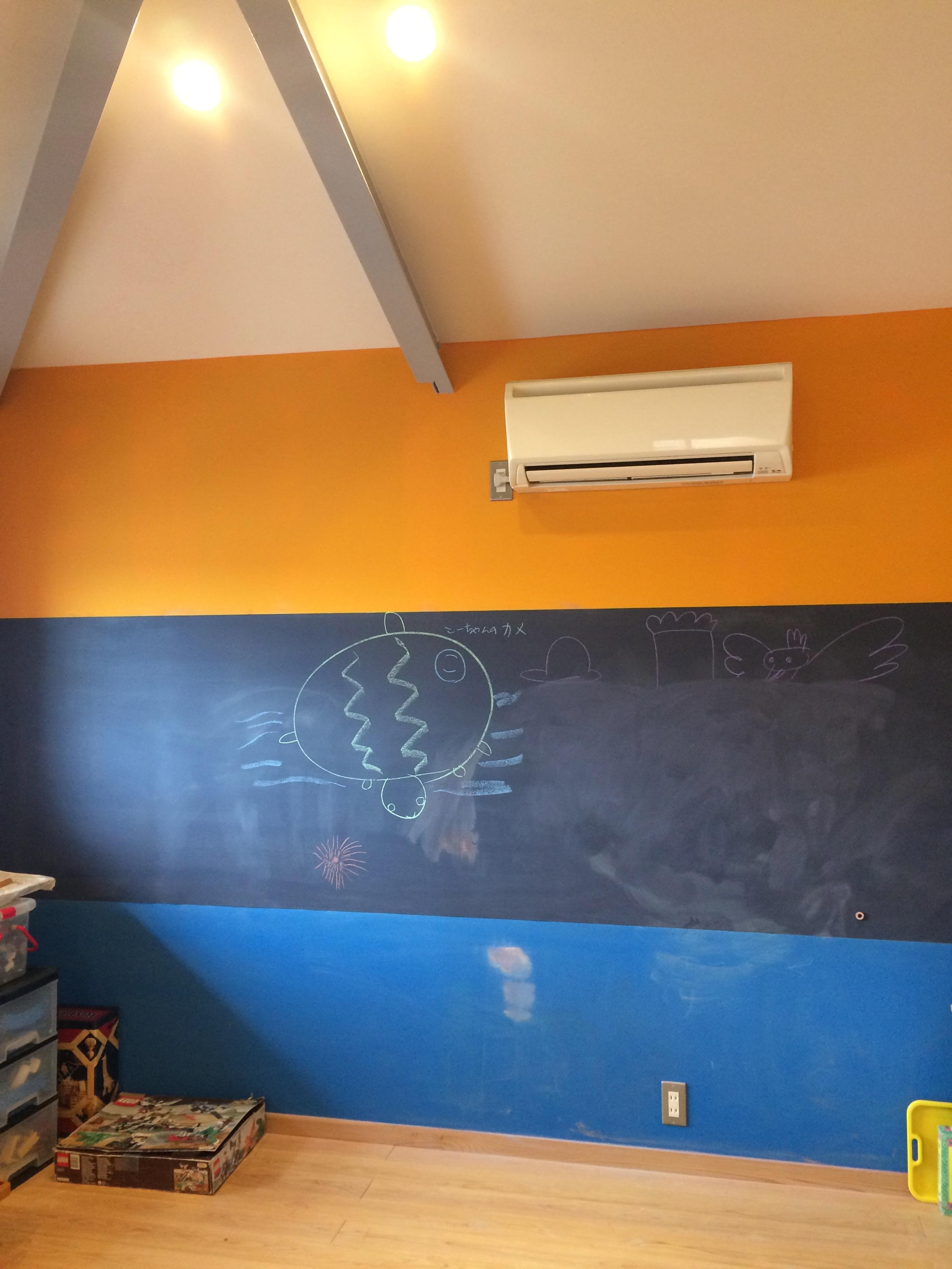 黒板塗料ロイヤルブルー、ラピスラズリ、